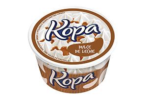 calorias helado dulce de leche granizado